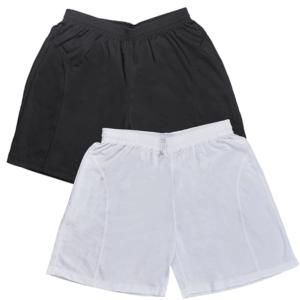 מכנסי ספורט למיתוג שחור ולבן