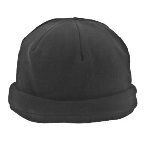 כובע פליז ממותג שחור
