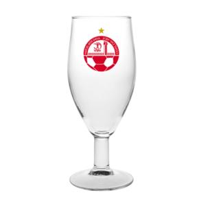 גביע יין ממותג עם רגל