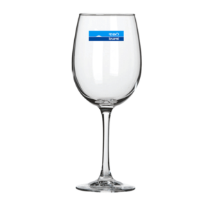 כוס יין ממותגת מתנה