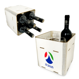 מארז עץ ממותג ליין
