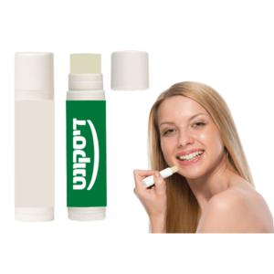 שפתון ממותג למניעת יובש