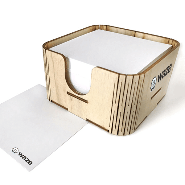 קופסת נייר ממו
