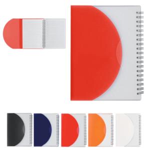 מחברת מעטפת למיתוג צבעוני