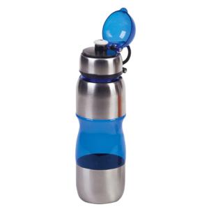 בקבוק טיולים כחול