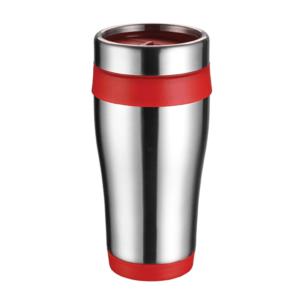 כוס תרמית ממותגת אדומה
