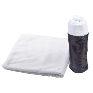 מגבת ספורט לבנה