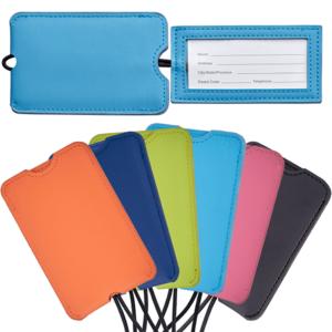 תג מזוודה צבעוני