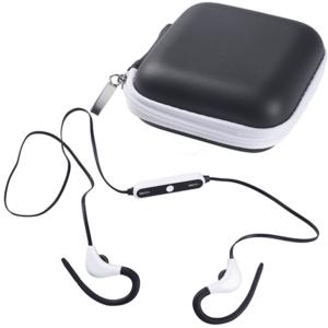 אוזניות ספורט עם דיבורית בנרתיק