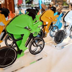 פסלון אופניים תלת מימדי ייחודי
