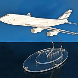 פסלון מטוס תלת מימדי ייחודי