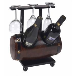 מעמד חבית יין גדול למתנה