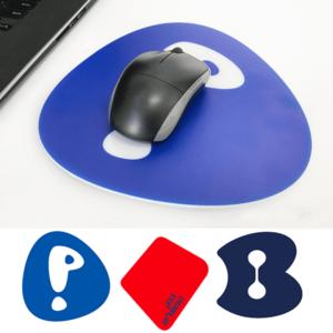 משטח צורני לעכבר לפי לוגו