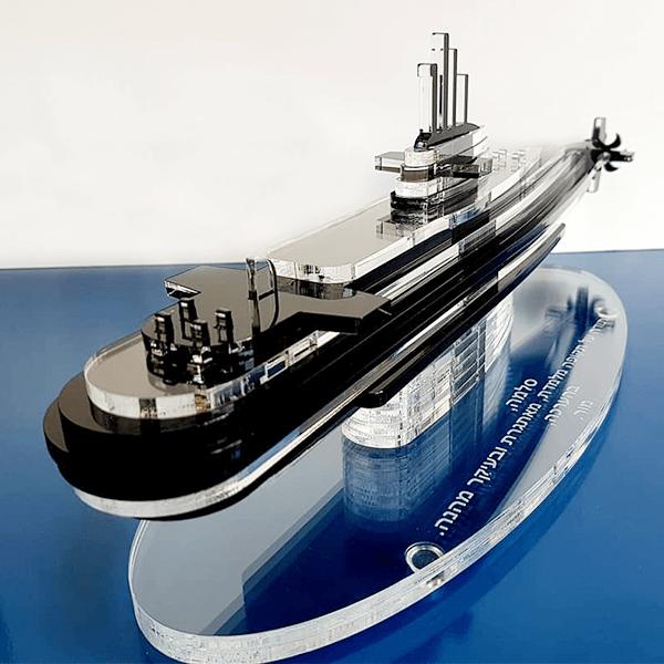 פסלון ספינה תלת מימדי