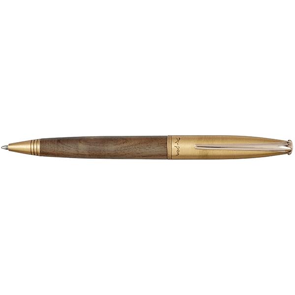 עט בעיצוב דמוי עץ