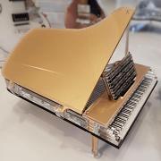 פסלון פסנתר תלת מימדי