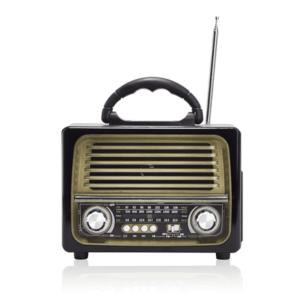 רמקול נייד רטרו כולל רדיו