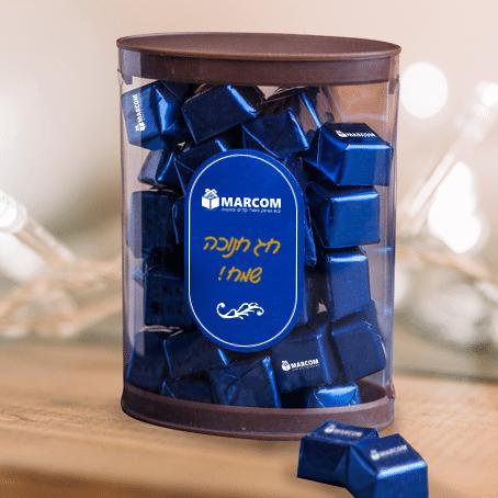 שוקולד באריזה אובלית