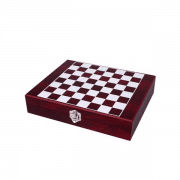 מארז שחמט ואביזרי יין