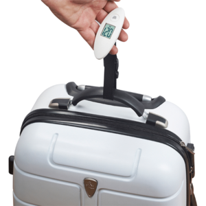 משקל מזוודה אלקטרוני לבן