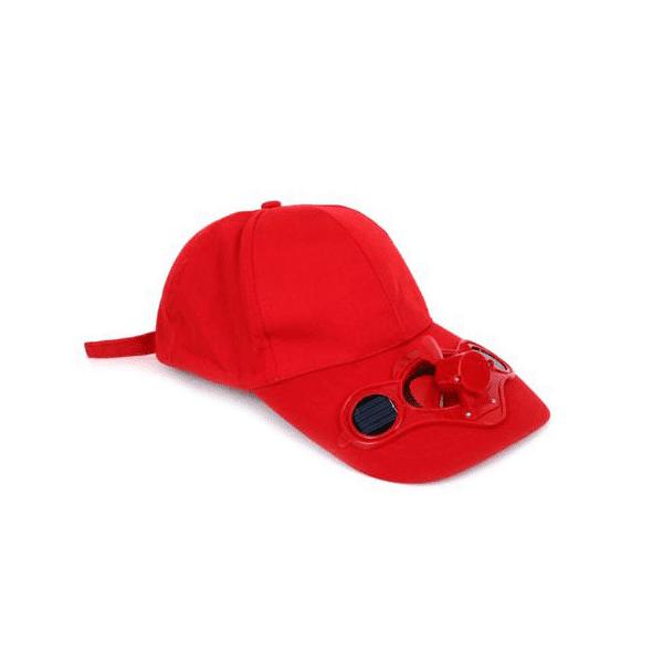 כובע מאוורר סולארי