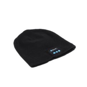כובע צמר בלוטוס שחור