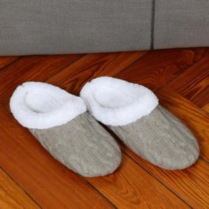 נעלי בית מצמר לחורף