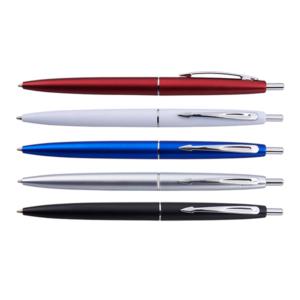 עט כדורי בצבעים מטאליים למיתוג