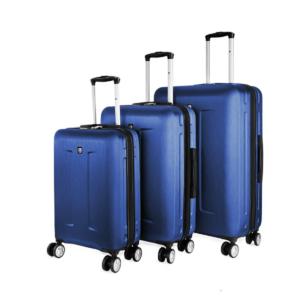 סט 3 מזוודות SWISS כחולות לעובדים