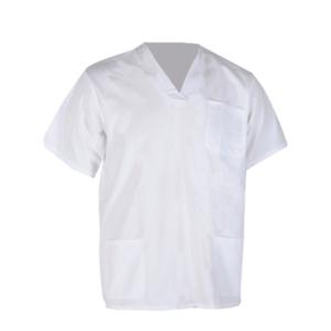 חולצה לעובדי רפואה לבן