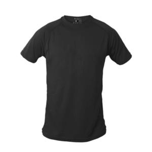 חולצת דרייפיט קצרה שחורה