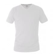 חולצת טריקו עם צווארון V