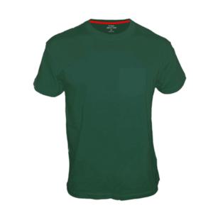 חולצת טריקו קצרה עם כיס ירוק