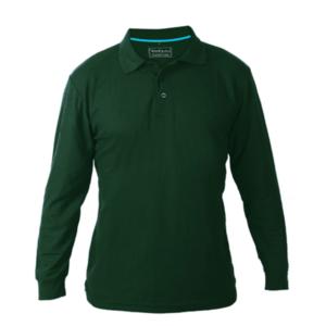 חולצת פולו ארוכה למיתוג ירוק