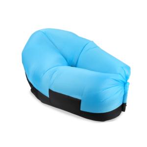 כורסא מתנפחת לחוף הים תכלת
