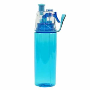 בקבוק שתיה ספריי כחול