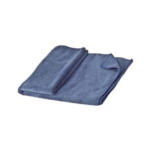 מגבת מיקרופייבר גדולה כחולה
