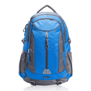 תרמיל גב ממותג לטיולים כחול