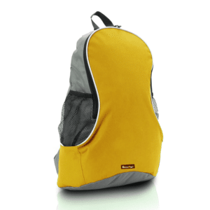 תיק גב מעוצב לטיולים צהוב