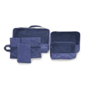 סט ארגוניות למזוודה כחול