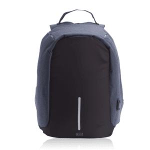 תיק גב מאובזר למחשב נייד כחול