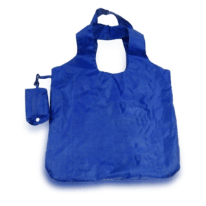 תיק קניות מתקפל לנרתיק כחול