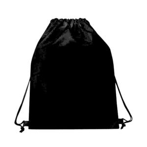 תיק שרוך עשוי ניילון שחור