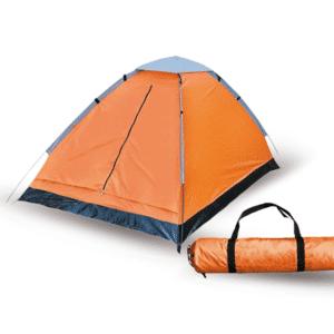 אוהל זוגי לטיולים כתום