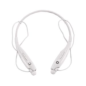 אוזניות כפתור לספורטאים צבע לבן