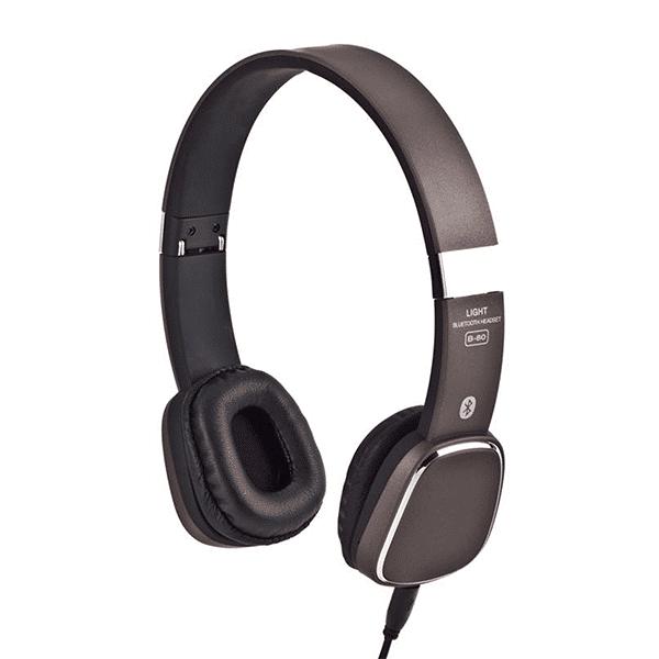 אוזניות קשת עם מיתוג צבע שחור