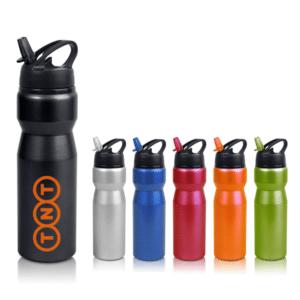 בקבוקי שתיה למיתוג במגוון צבעים