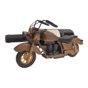 מעמד לבקבוק יין בעיצוב אופנוע עתיק