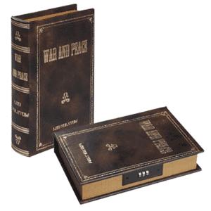 ספר כספת בעיצוב עתיק למיתוג