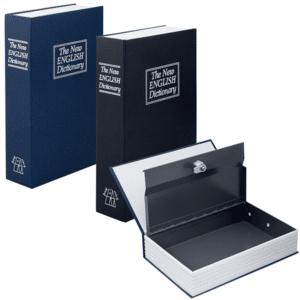 ספר כספת עשוי מתכת למתנה